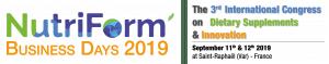 Logo Nutriform Business Day 2019
